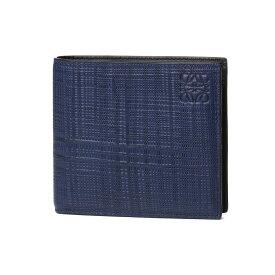 ロエベ LOEWE 財布 メンズ 101 88 501 1930 5110 二つ折り財布 NAVY BLUE ダークブルー