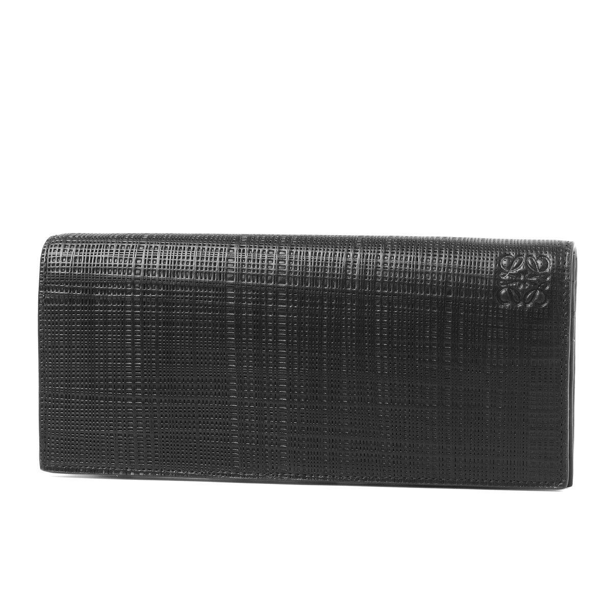 ロエベ LOEWE 財布 メンズ 101 88 978 1930 1100 二つ折り長財布 BLACK ブラック