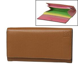 ロエベ LOEWE 財布 レディース 129 30 K98 2011 2904 二つ折り長財布 TAN/MULTICOLOR ブラウン