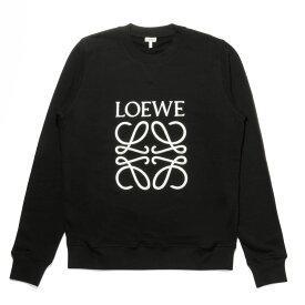 ロエベ LOEWE スウェット メンズ H6169410OF 1100 長袖スウェット BLACK ブラック