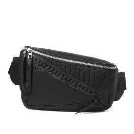 ロエベ LOEWE バッグ メンズ 306 50 T57 5822 1100 ウエストバッグ PUZZLE パズル BLACK ブラック