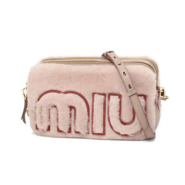 ミュウ ミュウ MIU MIU バッグ レディース 5BH084 2BO0 F0615 ショルダー付 クラッチバッグ MONTONE LETTER ORCHIDEA ピンク