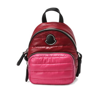 0065800 Monk rail MONCLER bag lady 68950 437 shoulders handbag Small KILIA kiliaRED red / pink belonging to