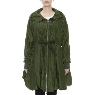 Coat ASTANA Astana KHAKI green with Monk rail MONCLER outer Lady's ASTANA 549F1 81A food