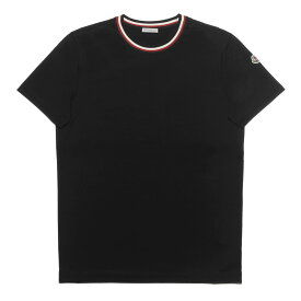 モンクレール MONCLER Tシャツ メンズ 8028300 8390Y 999 半袖Tシャツ BLACK ブラック