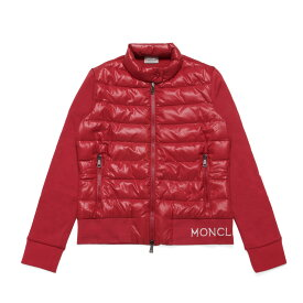 モンクレール MONCLER ブルゾン レディース 8462100 V8080 45C ダウンコンビブルゾン RED レッド