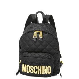 モスキーノ MOSCHINO バッグ レディース 7608 8201 2555 バックパック BLACK ブラック
