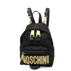 モスキーノ MOSCHINO バッグ レディース 7609 8201 2555 ショルダー付 バックパック BLACK ブラック