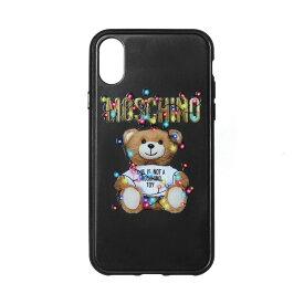 モスキーノ MOSCHINO iPhoneXケース レディース 7977 8351 1555 BLACK ブラック