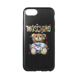 モスキーノ MOSCHINO iPhone6/6s/7/8ケース レディース 7979 8351 1555 BLACK ブラック