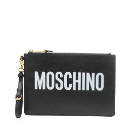 モスキーノ MOSCHINO バッグ レディース 8405 8001 1555 クラッチバッグ BLACK ブラック