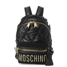 モスキーノ MOSCHINO バッグ レディース 7605 8207 1555 バックパック BLACK ブラック