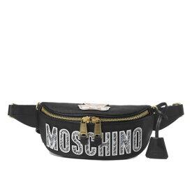 モスキーノ MOSCHINO バッグ レディース 7718 8210 2555 ウエストバッグ BLACK ブラック