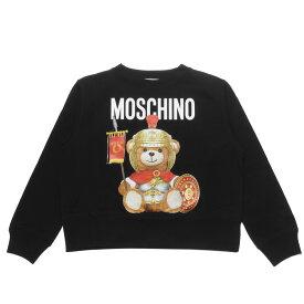 モスキーノ MOSCHINO スウェット レディース 1702 5527 2555 長袖スウェット BLACK ブラック