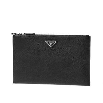 Prada PRADA bag men 2NG005 PN9 F0002 clutch bag NERO black