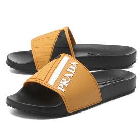 プラダ PRADA シューズ メンズ 4X3204 B4O F0377 サンダル SOLE オレンジ/ブラック