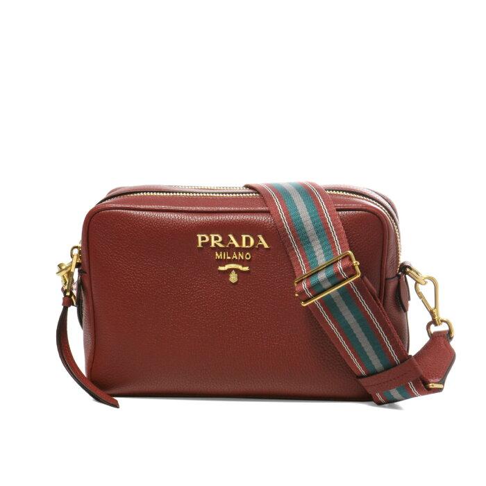 プラダ PRADA バッグ レディース 1BH082 2BBE F0041 ショルダーバッグ RUBINO レッド