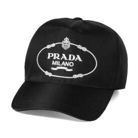 プラダ PRADA キャップ レディース 1HC179 2EK1 F0967 NERO+BIANCO ブラック