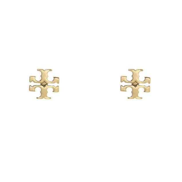 トリー バーチ TORY BURCH アクセサリー レディース 11165504 701 ピアス LOGO STUD ロゴ スタッド SHINY GOLD ゴールド