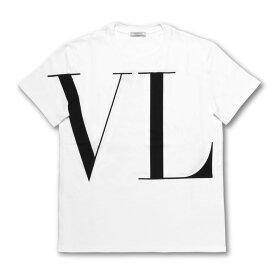 ヴァレンティノ VALENTINO Tシャツ メンズ SV3MG14D57F 0BO 半袖Tシャツ BIANCO/NERO ホワイト