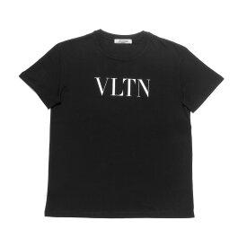 ヴァレンティノ VALENTINO Tシャツ レディース SB3MG07D3V6 0NI 半袖Tシャツ NERO/BIANCO ブラック
