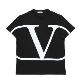 ヴァレンティノ VALENTINO Tシャツ メンズ SV3MG02T5F6 0NI 半袖Tシャツ NERO/BIANCO ブラック