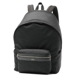 SAINT LAURENT Saint-Laurent backpack NERO/NERO black GIANT CITY giant city