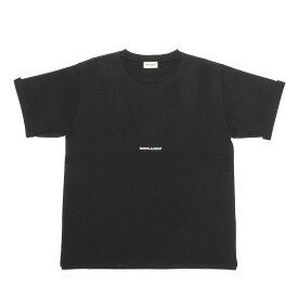 サン ローラン SAINT LAURENT Tシャツ レディース 460876 YB2DQ 1000 半袖Tシャツ BLACK ブラック