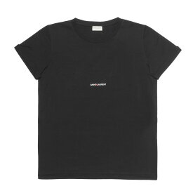 サン ローラン SAINT LAURENT Tシャツ メンズ 464572 YB2DQ 1000 半袖Tシャツ BLACK ブラック
