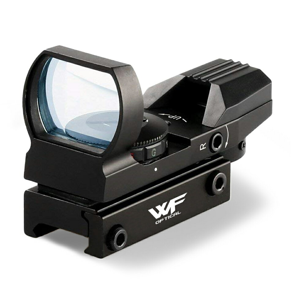 ドットサイト 照準器 エアガン オープン ダットサイト レール 20mm 照準器 4種 レティクル