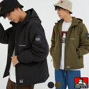 【送料無料】 BEN DAVIS ベンデイビス 中綿ジャケット メンズ レディース 防寒 フードジャケット ビッグシルエット オーバーサイズ 大きいサイズ ゆったり ダウンジャケット ジャンパー ジャ