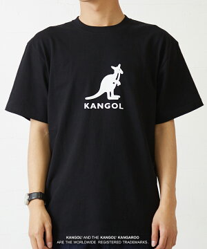 【improves限定コラボ別注】KANGOL×NOUNOカンゴールTシャツメンズレディース半袖ブランドロゴバックプリントクルーネックカットソー半袖Tシャツ韓国ファッションストリート系きれいめモードメンズファッションインプローブス