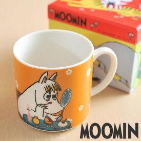ムーミン/マグカップ/フローレン(MM282-11)/オレンジ/カラーボックスなし(takuhai)