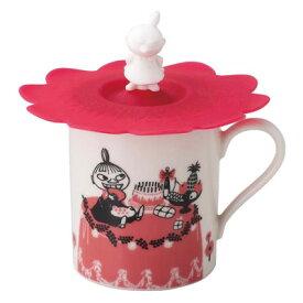 ムーミン/カップカバー付マグカップ/ミイ(MM493-11P)/ピンク(takuhai)