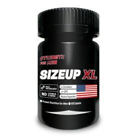 【送料無料】SIZE UP XL(サイズ・アップ・エックスエル) 単品【増大サプリ 増大 男性 シトルリン アルギニン 赤ガウクルア トンカットアリ】