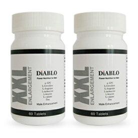 DIABLO(ディアブロ) 自信増大サプリ 2本セット α-GPC シトルリン 亜鉛 マカ ムイラプアマ 送料無料