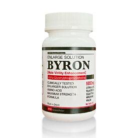 Byron(バイロン) 自信増大サプリ 単品 α-GPC シトルリン アルギニン 亜鉛 コラーゲン ヒアルロン酸 ローヤルゼリー
