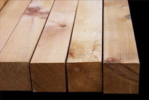 ウエスタンレッドシダー米杉(ベイスギ)デッキ角材4000×90×90ミリ