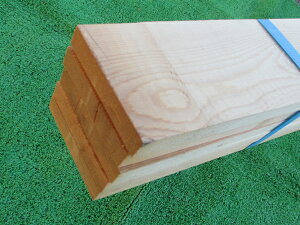 【大型宅配便送料無料適用対象外】赤松無垢人工乾燥材 節あり1950×18×90ミリ 10本入