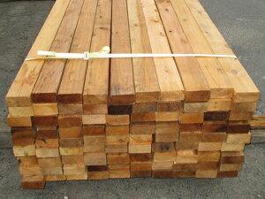米杉(ベイスギ)ウエスタンレッドシダー デッキ材【多少難ありB級品】 1820×38×89ミリ(6F 2×4材)