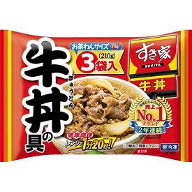 冷凍食品 業務用 トロナジャパンすき家 牛丼の具 210g×10袋 ケース