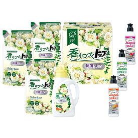 雑貨 お歳暮 御歳暮 洗剤 ギフト お取り寄せ 送料無料 ライオン 香りつづくトップ抗菌plusギフト 型番:LKT-30
