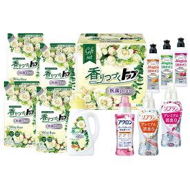 雑貨 お歳暮 御歳暮 洗剤 ギフト お取り寄せ 送料無料 ライオン 香りつづくトップ抗菌plusギフト 型番:LKT-50