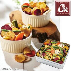 お中元 御中元 2021 豆徳 野菜チップス缶 型番:MYC-C4M ギフト お取り寄せ 送料無料 お菓子