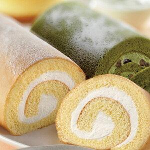 ギフト スイーツ 詰め合わせ 送料無料 大山乳業 ロールケーキと抹茶ロールケーキの詰め合わせ