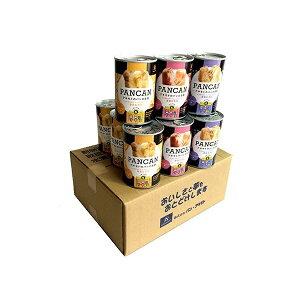 非常食 防災 保存 送料無料  PANCANアキモトのパンの缶詰 おいしい備蓄食12缶セット