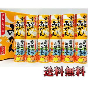 お中元 御中元 ジュース ギフト 詰め合わせ 送料無料 愛工房 愛媛県産ジュース詰め合わせ計12本(みかん&ミックス)