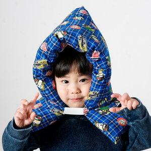 送料無料 防災ずきん 幼児 防災頭巾 防災ズキン ぼうさい ずきん 日本製 アメリカン ドクロ男の子用柄綿100% 保育園 小学生 低学年