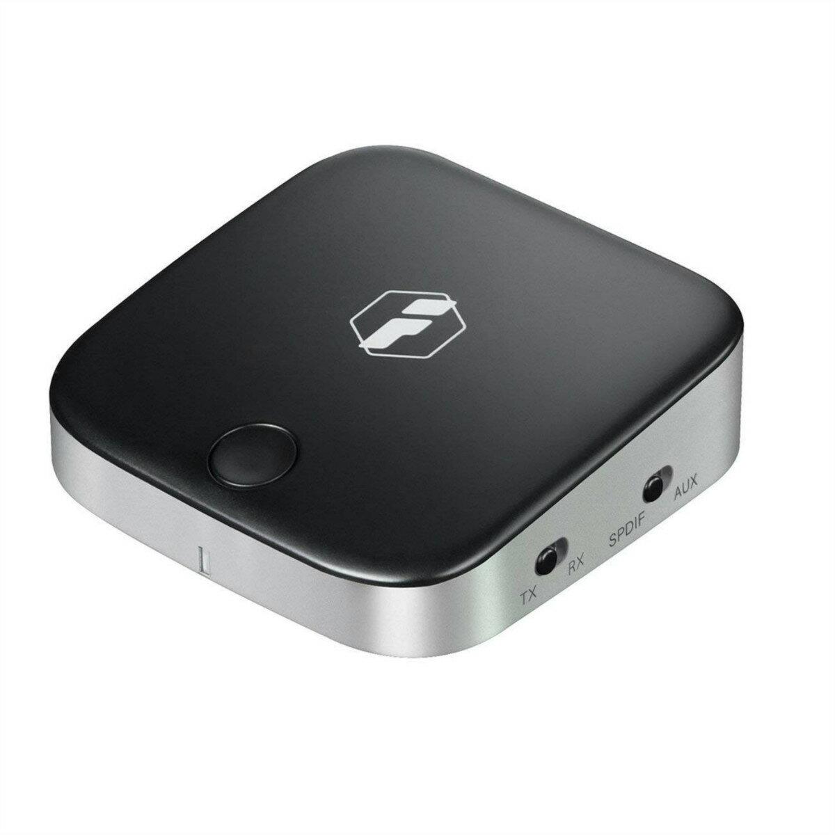 【全品日本全国送料無料】Inateck 2-in-1 Bluetooth トランスミッター&レシーバー 受信機+送信機 光デジタルTOSLINK、3.5mmAUXケーブル、RCAケーブル付き aptX ローレイテンシー対応、車載、無線 Bluetoothレシーバー カーオーディオ 車内 音楽再生