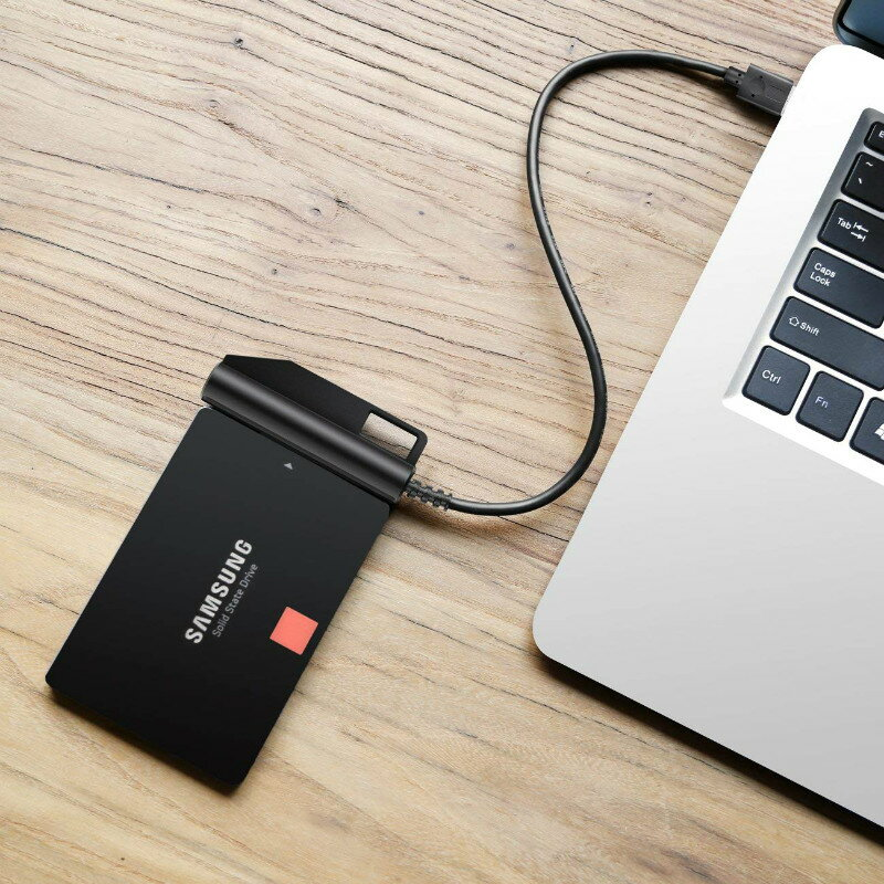 【日本全国全品送料無料】【1年保証】Inateck SATA-USB 3.0 変換アダプタケーブル、UASP対応可能、2.5インチSSD/HDD用 USB 3.0 - SATA IIIコンバータ、SATA IIIハードディスク用アダプター、外付けハードディスク用